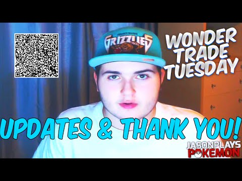 VLOG: WonderTrade Tuesday Update, Thank You's & QR Codes w/ out PKHeX Tutorial!