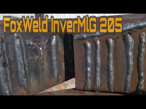 FoxWeld InverMlG 205.  как он варит .