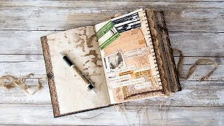Using your Junk Journal - Memory Collages - Journal with me #1 jun.k 検索動画 16