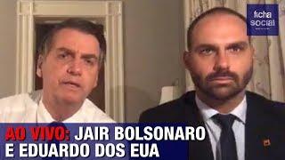 AO VIVO: PRESIDENTE JAIR BOLSONARO E EDUARDO FAZEM TRANSMISSÃO DIRETAMENTE DOS EUA thumbnail