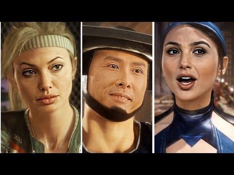 Celebrities in Mortal Kombat 11 (Angelina Jolie,Scarlett Johansson,Gal Gadot,Donnie Yen)[DeepFake]