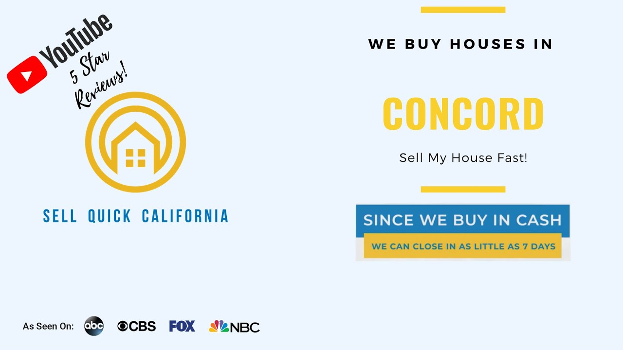 We Buy Houses In Concord California [Real Estate Investor Property Walk Through]