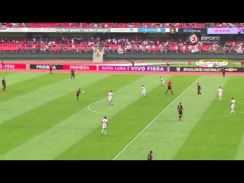 Melhores Momentos - Gols de São Paulo 2 x 0 Ponte Preta - Campeonato Brasileiro (22/10/16)