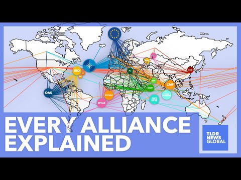 Every Military Alliance Explained: All Of The World's Alliances - TLDR News