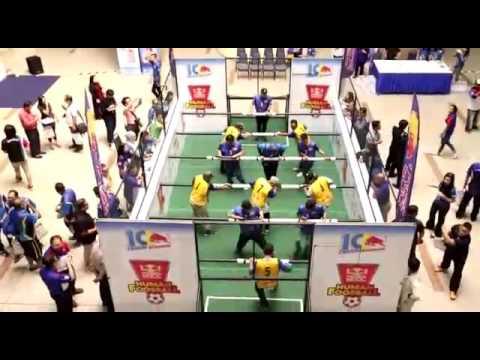 Red Bull Human Foosball Brunei Media Launch