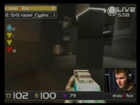 IEM Dubai Quake Live - Cypher vs Fox 1/4