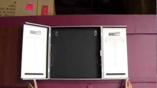 New Aluminium Dartboard Cabinet
