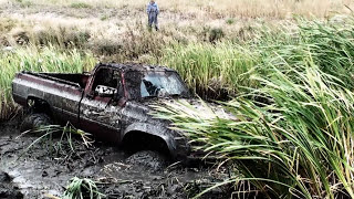 CHEVY WITH 454 & 49S MUDDIN