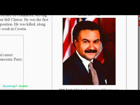 Ron Brown, Another one who Trusted the Clintons