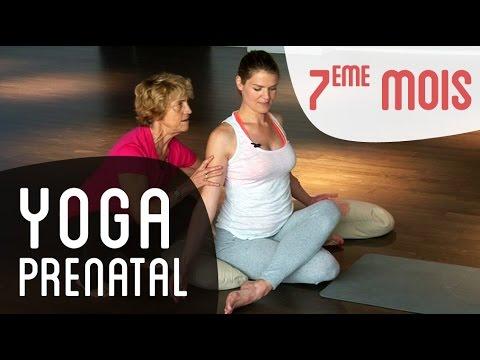 Yoga Prénatal 7ème mois de grossesse - avec le Dr Bernadette De Gasquet