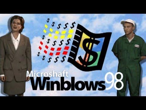 LGR - Microshaft Winblows 98 - Parody Program Review