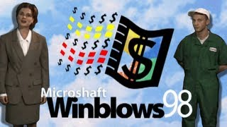 LGR - Microshaft Winblows 98 - Parody Program Review