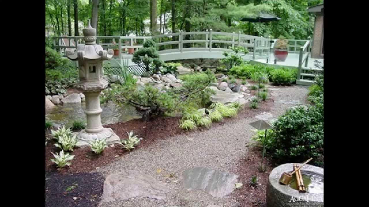Beautiful Asian Garden Design Decorations YouTube