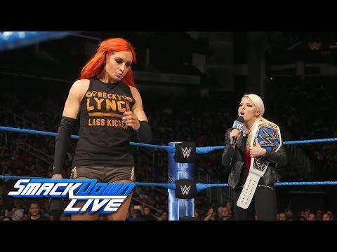 Becky Lynch interrupts Alexa Bliss' SmackDown Women's Title celebration: SmackDown LIVE, Dec 6, 2016