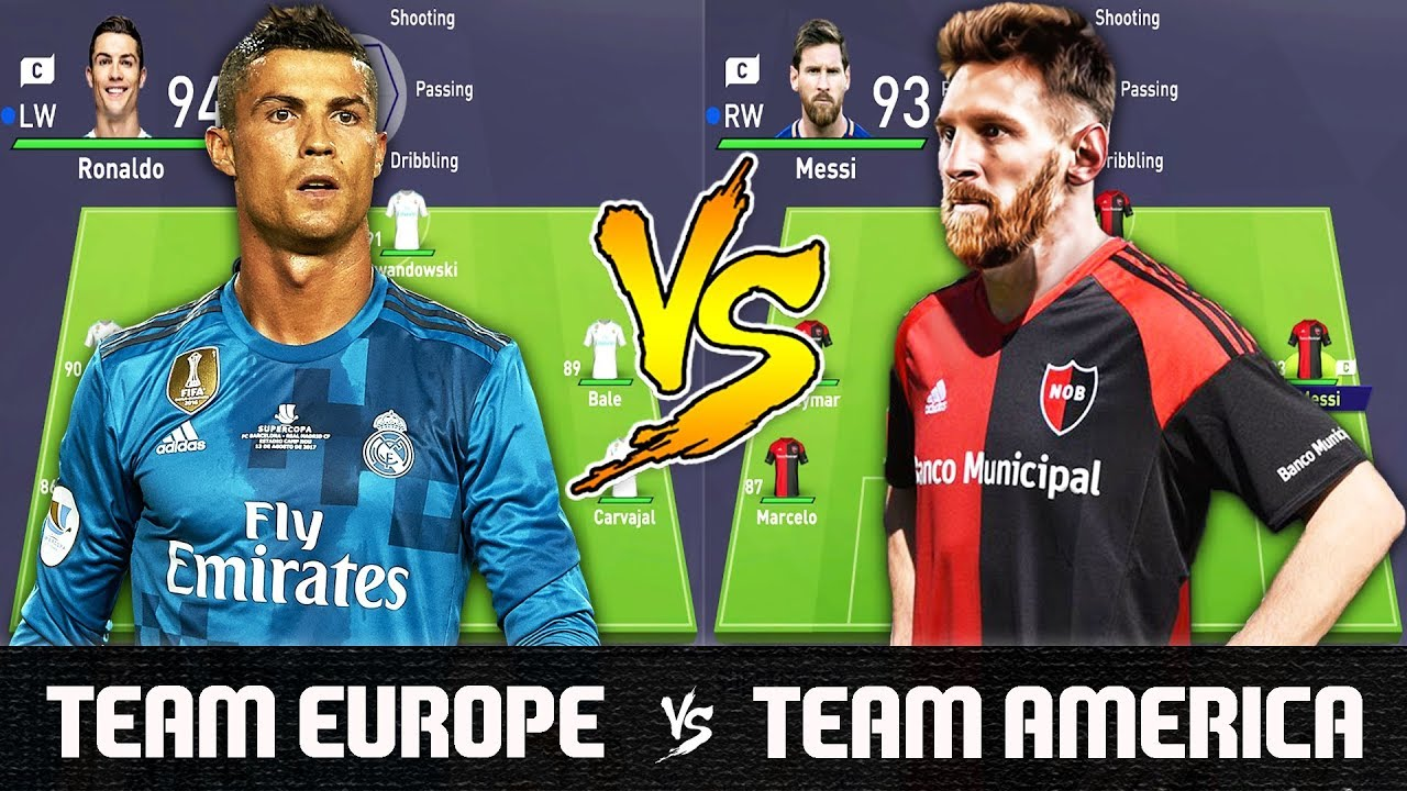 286f672f541 Team Europe VS Team America - FIFA 18 Experiment - YouTube
