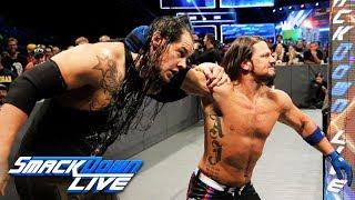 Baron Corbin vs. AJ Styles - United States Championship Match: SmackDown LIVE, Oct. 10, 2017