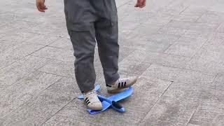 LED Hand Throw Flying Glider EPP Foam Plane Aeroplane