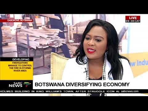 Botswana diversifying economy
