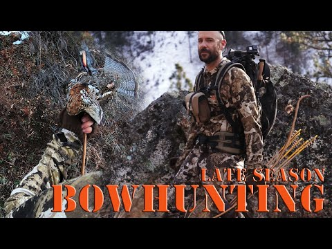 Recurve Bow Hunting Late Season Deer 2019