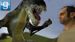 TITANS vs DRAGONS   Gmod Sandbox Fun