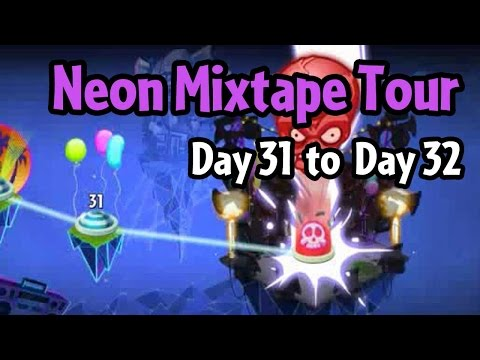 Plants vs Zombies 2 - Neon Mixtape Tour Day 31 to Day 32