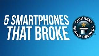 5 Smartphones That Broke Guinness World Records