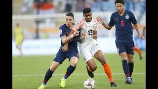 Thailand 1-4 India (AFC Asian Cup UAE 2019: Group Stage)