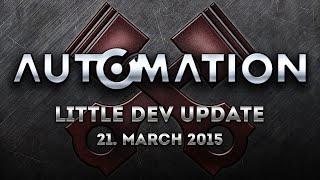 Little Dev Update: 21. March 2015