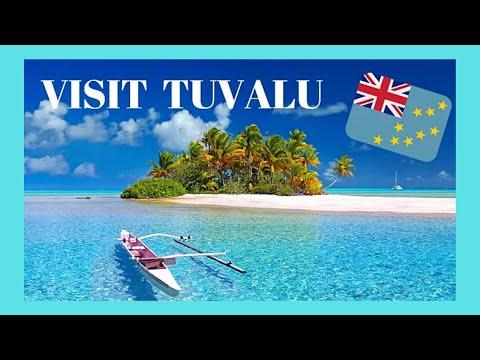 Island Nation Of Tuvalu Its Capital Funafuti What To See
