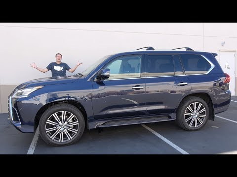 The 2019 Lexus LX570 Is a $95,000 Disappointment