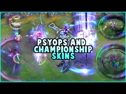 PSYOPS Samira, Viktor, Pyke, Kayle, Zed & Championship Leblanc Preview (League of Legends)
