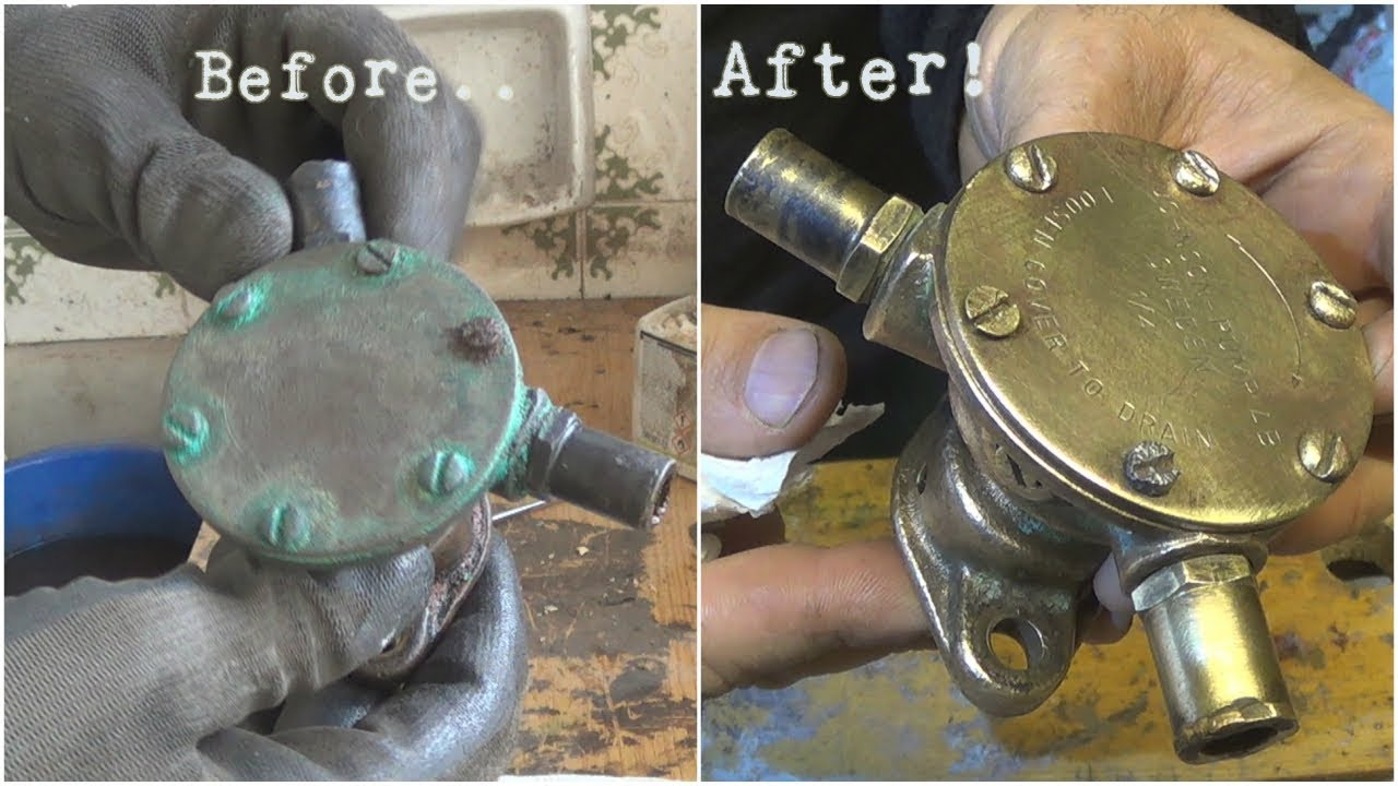 water pump restoration and maintenance s v akestor volvo penta md2b part 4  [ 1280 x 720 Pixel ]