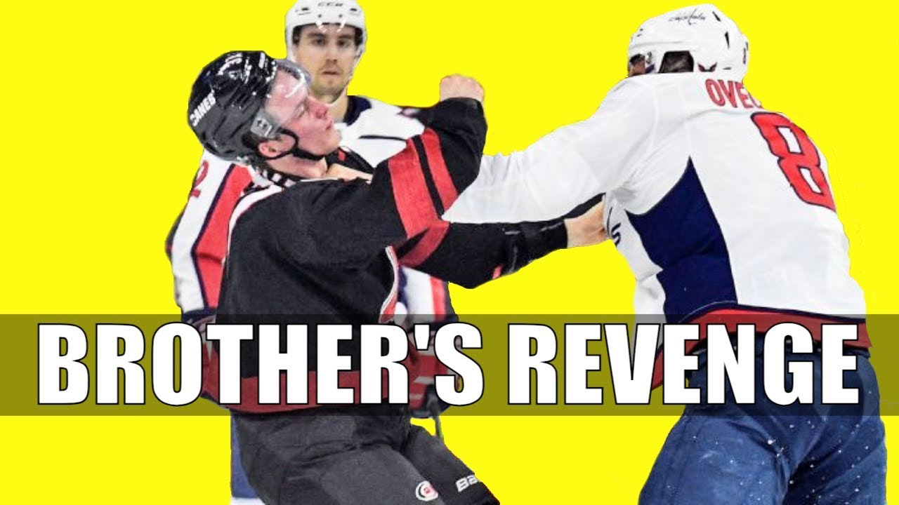 Andrei Svechnikov's brother threatens Alex Ovechkin on Instagram after knockout fight