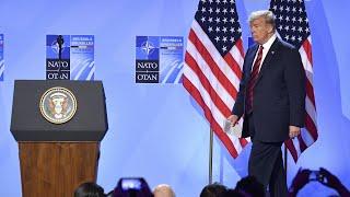 """Überraschendes Lob von Trump: """"Die USA sind der Nato eng verbunden"""""""