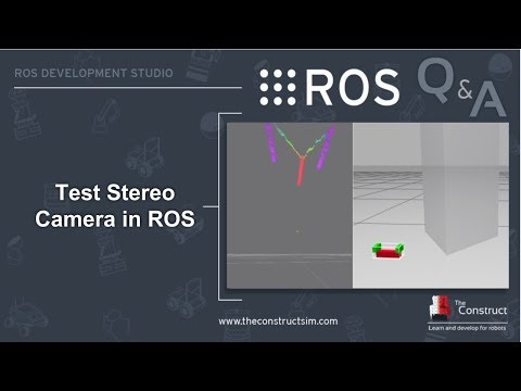 ROS Q&A] 167 - Test Stereo Camera in ROS - YouTube