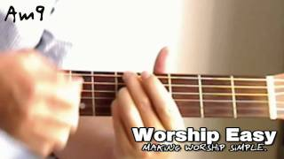 the am9 chord guitar