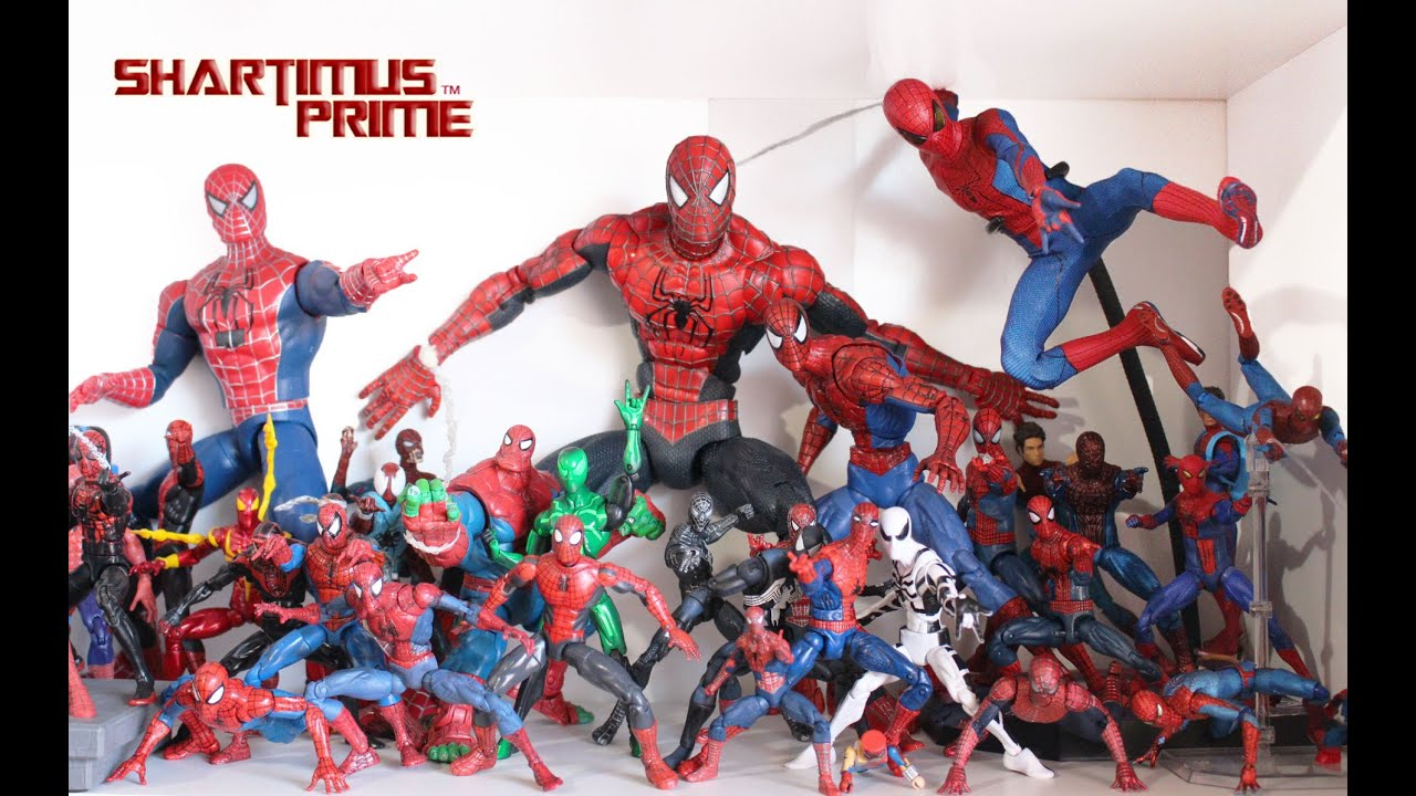 Kids Toys Action Figure: Marvel Legends Spider-Man Action Figure Toy Collection