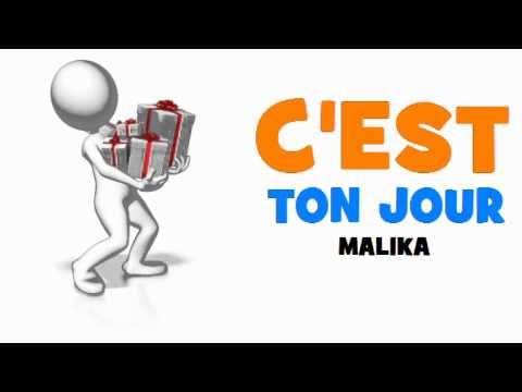 Joyeux Anniversaire Malika Youtube