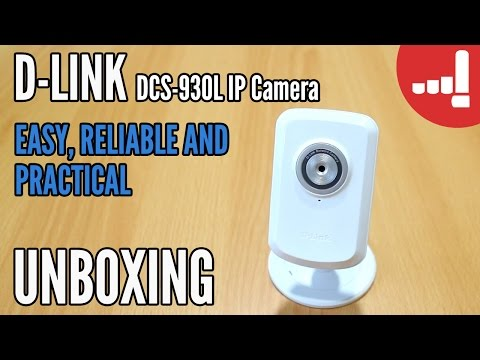D-Link Wireless N Network Camera Unboxing