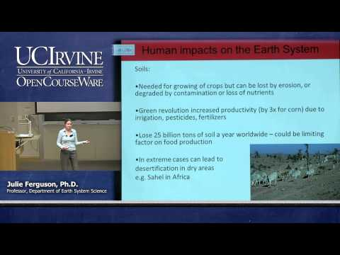 Earth System Science 1: Intro to ESS. Lecture 24. Human Impacts on the Earth System