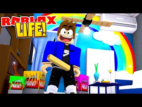 ROBLOX LIFE || BUYING MY NEW HOUSE WITH LITTLE LEAH || ROBLOX ROLE PLAY
