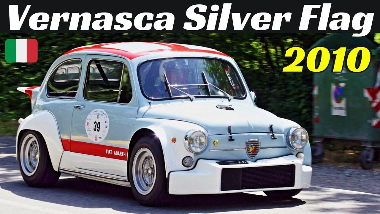 Vernasca Silver Flag 2010 Highlights - Historic Hillclimb Revival - Alfa Disco Volante, Abarth, etc