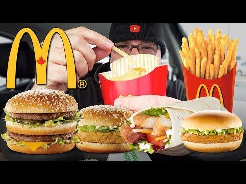 McDONALD'S | MUKBANG 먹방 • EATING SHOW • My Favourite Food Items