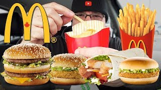 McDONALD'S | MUKBANG 먹방 • EATING SHOW • My Favourite Food Items