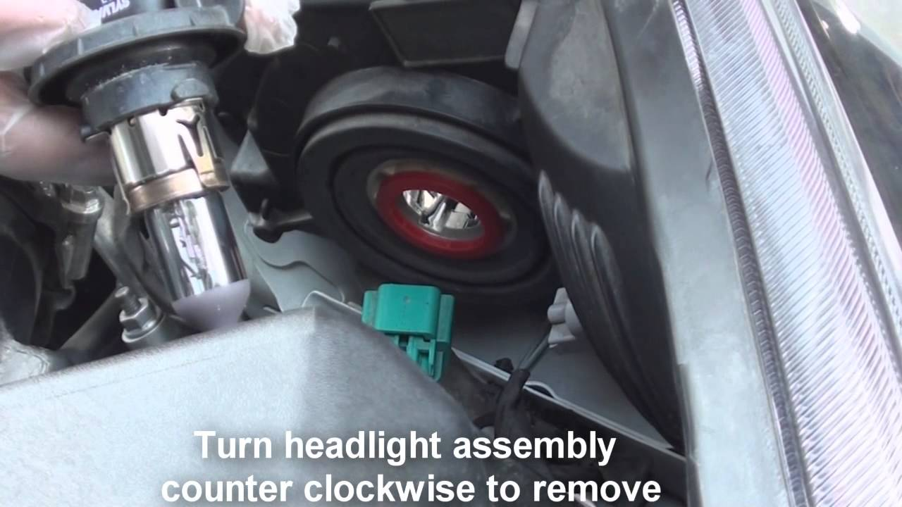 replace headlight chevy cruze youtube