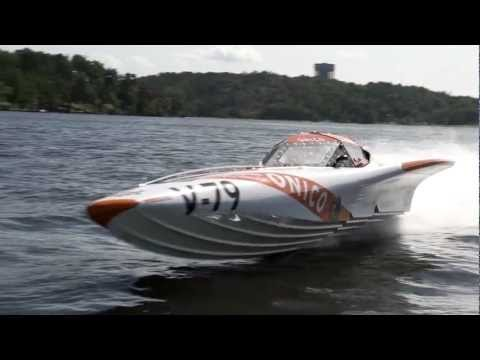 Speedball Race 2012 - Offshore Powerboat & Jet Ski vs Helicopter - Onico Team 100 Boat Racing Team.