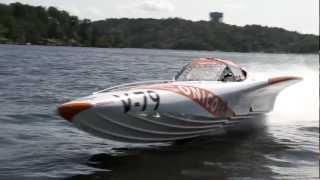 Speedball Race 2012 - Offshore Powerboat & Jet Ski vs Helicopter - Onico Team 100 Boat Racing Team.