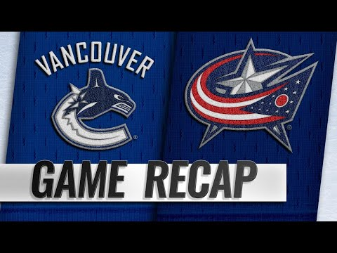 Pettersson, Leivo lead Canucks past Blue Jackets, 3-2