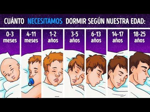 Cient�ficos explican cu�nto necesitas dormir dependiendo de tu edad