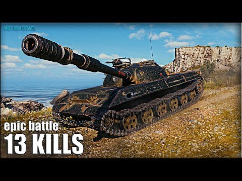 СТАТИСТ против ВСЕХ ? 13 ФРАГОВ ? Объект 430У World of Tanks лучший бой на ст 10 thumbnail